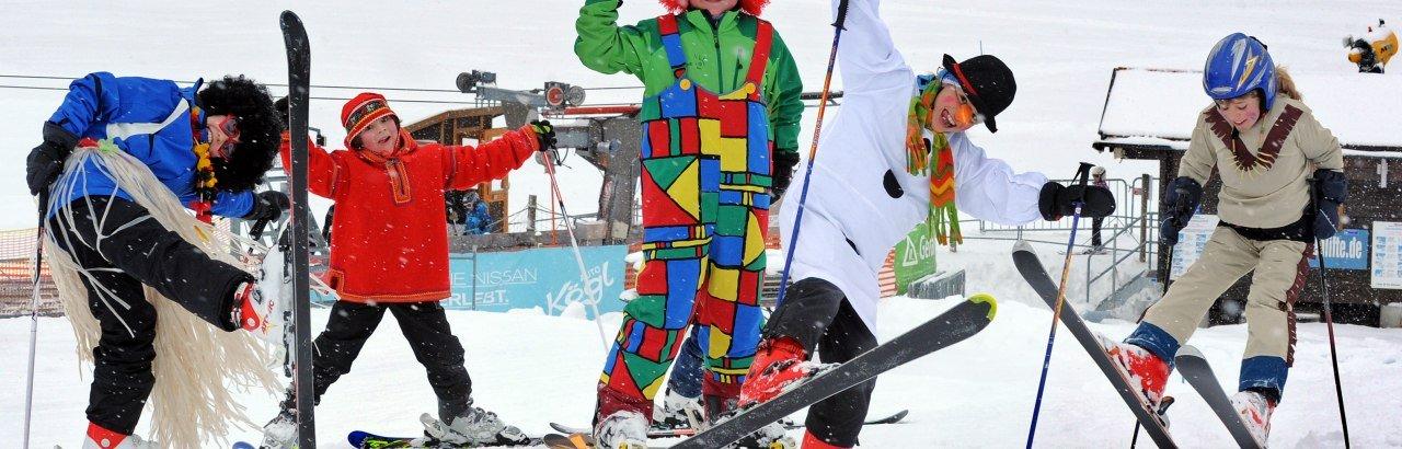 Fasching auf der Skipiste © Hermann Ernst