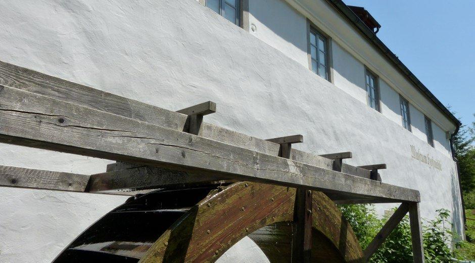 Wasserrad Museum Hofmühle © Stadt Immenstadt