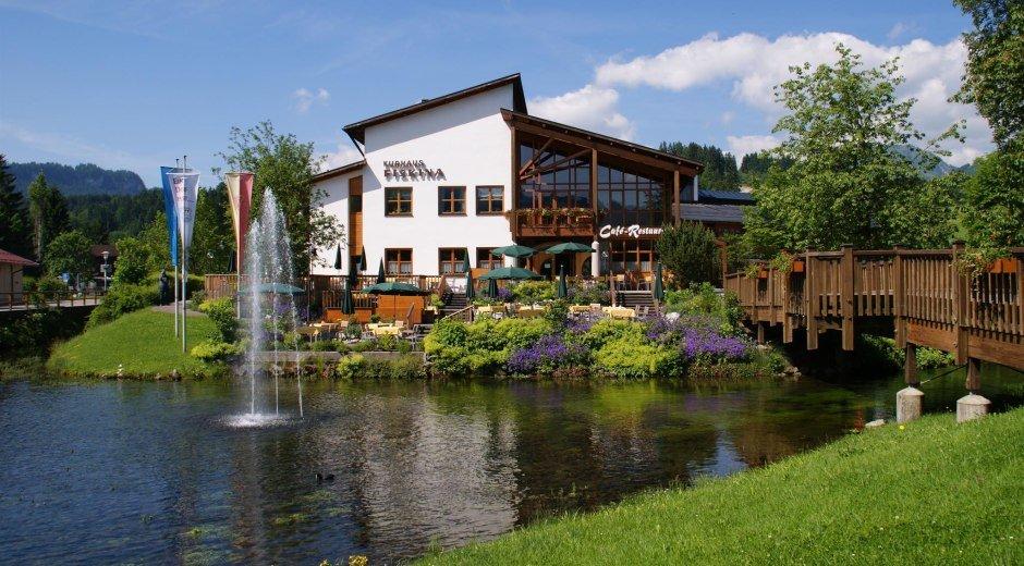 Kurhaus Fiskina in Fischen i. Allgäu © Tourismus Hörnerdörfer