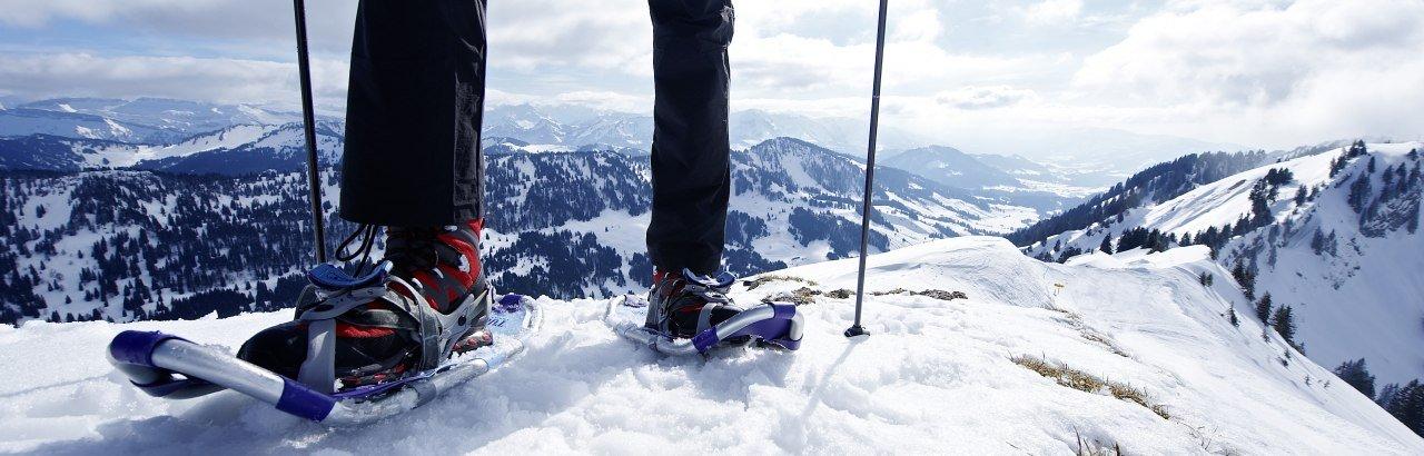 Schneeschuh-Paradies Nagelfluhkette © Oberstaufen Tourismus Marketing GmbH