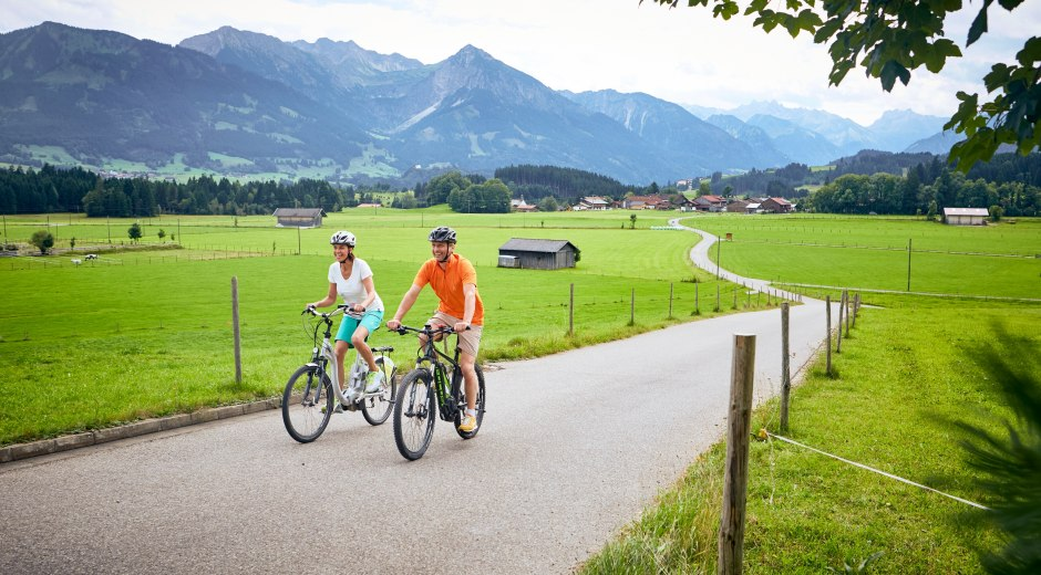mit dem E-Bike durchs Oberallgäu © Allgäu GmbH