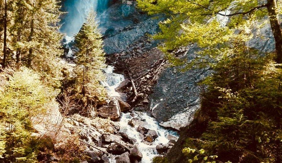 Scheuenwasserfall in Balderschwang © Alpe Scheuen