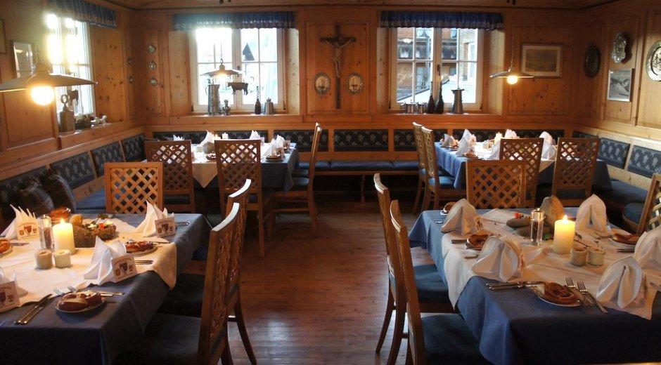 Restaurant im KIENLE - Kräuterhotel in Balderschwa © KIENLE - Kräuterhotel und Gasthof