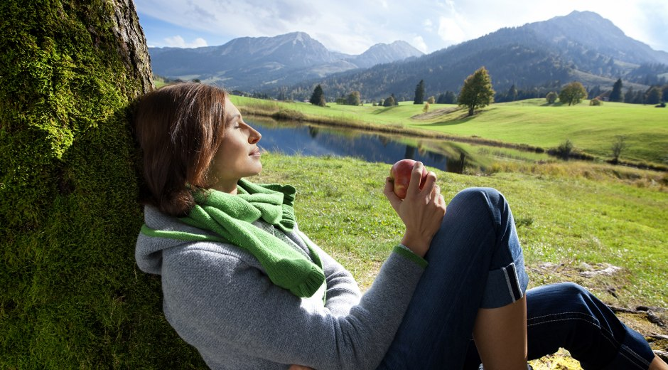 Entspannen am See im Allgäu © Allgäu GmbH