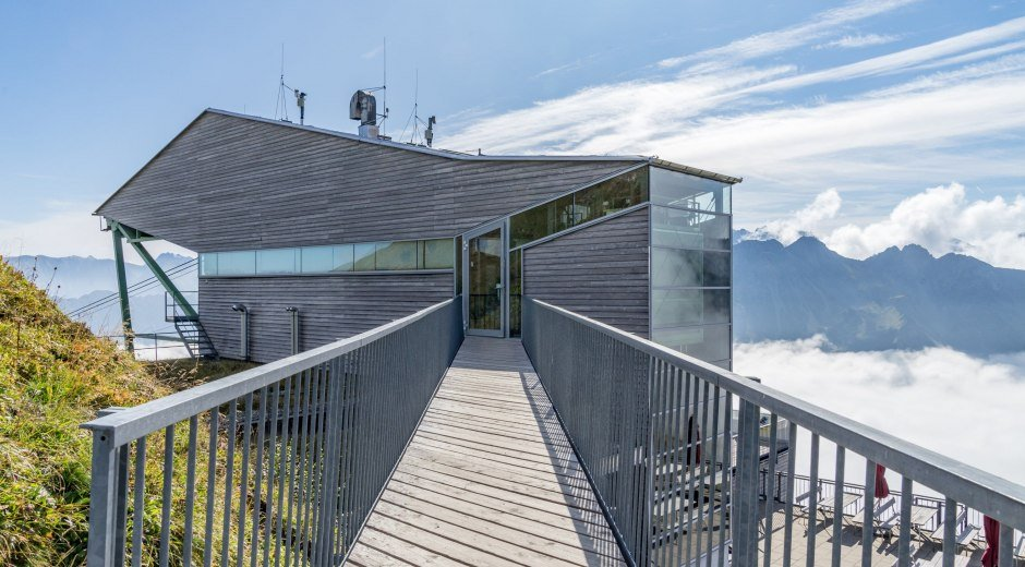 Ansicht Bergstation