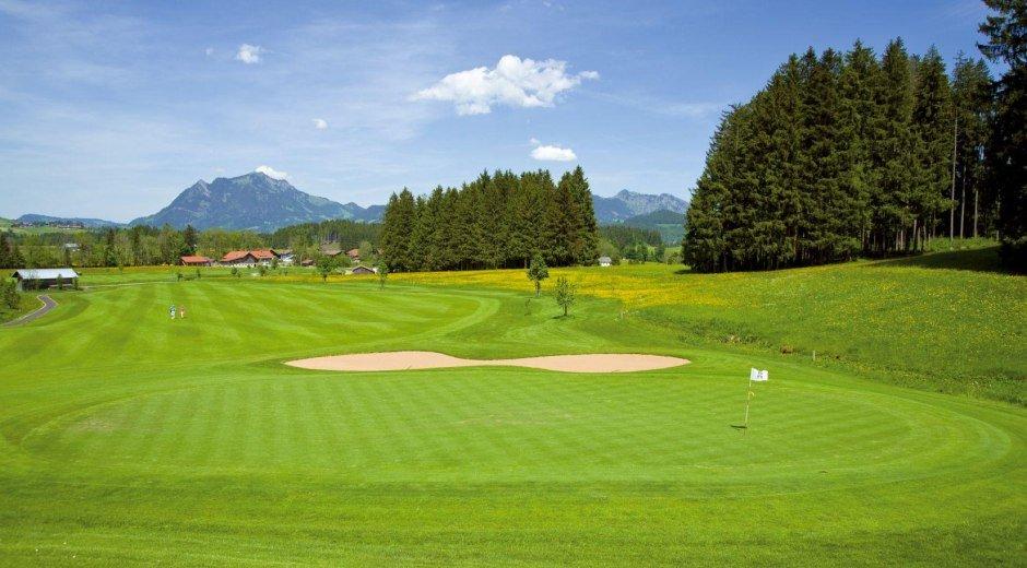Golfplatz Oberallgäu - Hörnerdörfer im Allgäu Golf © Golfresort Sonnenalp-Oberallgäu Golfresort Sonnena