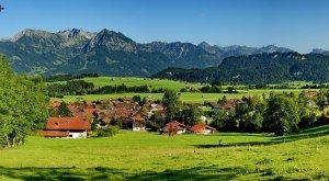 Bolsterlang - Ortsansicht, © Tourismus Hoernerdoerfer GmbH