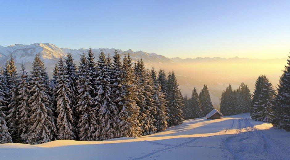 Winterwunderland im Oberallgäu © Dominic Ultes