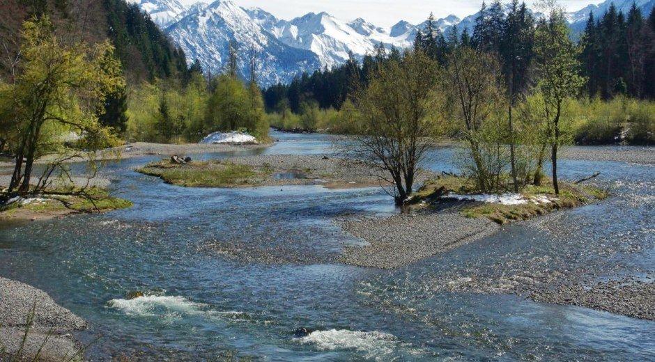 Auwaldsee im Frühling © Tourismus Hörnerdörfer, W. Monschau