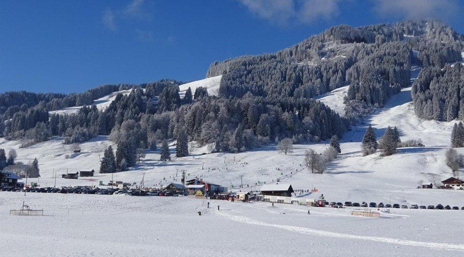 Das Basislager in Bolsterlang © Tourismus Hörnerdörfer