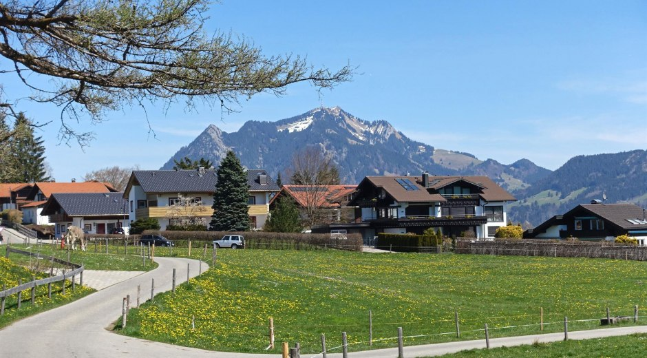 "Bergblick ""Beim Thanner"" © Tourismus_Hörnerdörfer_Mueller_Ulrike"