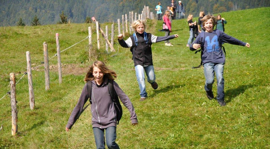 Aktivitäten für Kinder und Jugendliche im Naturerlebniszentrum Allgäu © Naturerlebniszentrum Allgäu (NEZ)