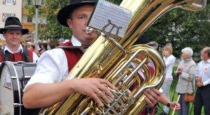 Blasmusiker, © Hermann Ernst