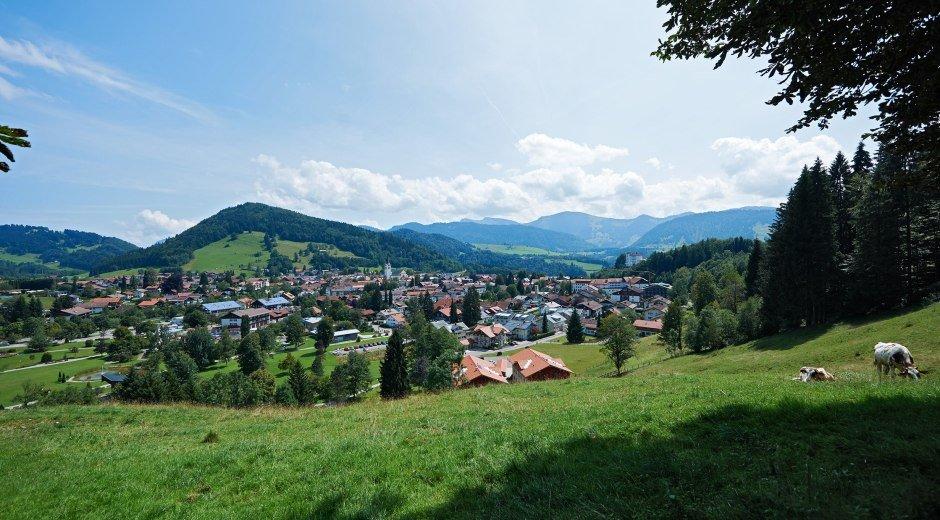 Blick vom Trilogieplatz Oberstaufen © Oberstaufen Tourismus Marketing GmbH