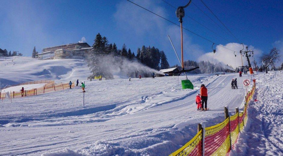 Skifahren zum Nulltarif - für Fischinger Gäste © Neumann-Grafik.de