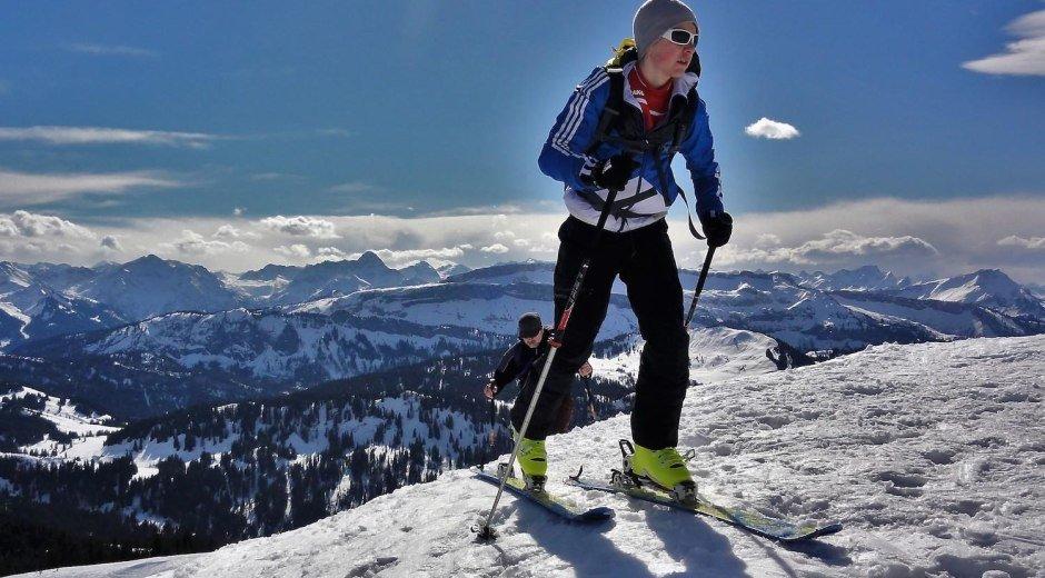 Staatlich geprüfter Berg- und Skiführer © Alpine Zeiten - Ofterschwang