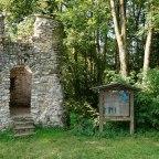 Burgruine Kalden am Illerradweg bei Altusried, © Reinhard Walk