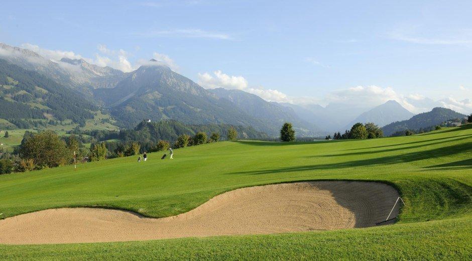 Golfplatz Oberallgäu - Hörnerdörfer im Allgäu © Sonnenalp Resort