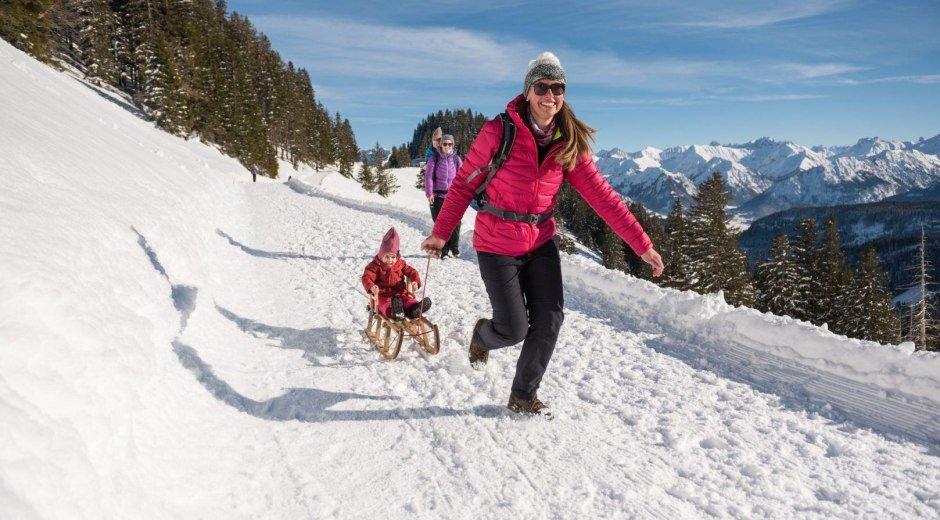 Höhen-Winterwanderweg Hörnerbahn © Tourismus Hörnerdörfer, F. Kjer