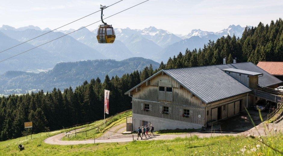 Sennalpe Ornach - Bolsterlang © Tourismus Hörnerdörfer, F. Kjer