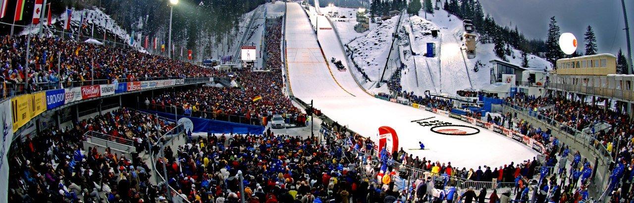 Skispringen in Oberstdorf © Hermann Ernst