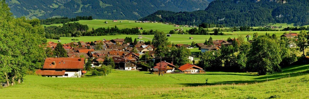 Bolsterlang - Ortsansicht © Tourismus Hoernerdoerfer GmbH