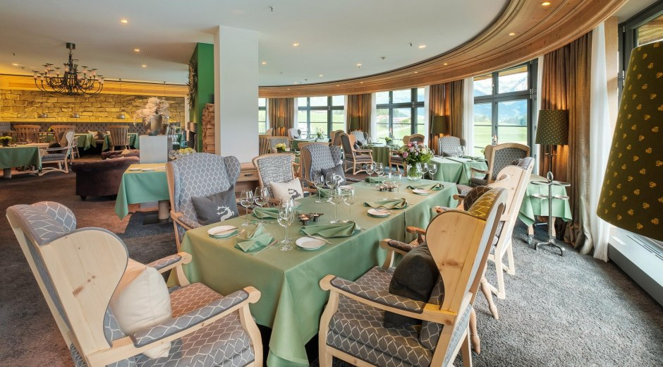 Gourmet-Restaurant Silberdistel in Ofterschwang © Sonnenalp Resort